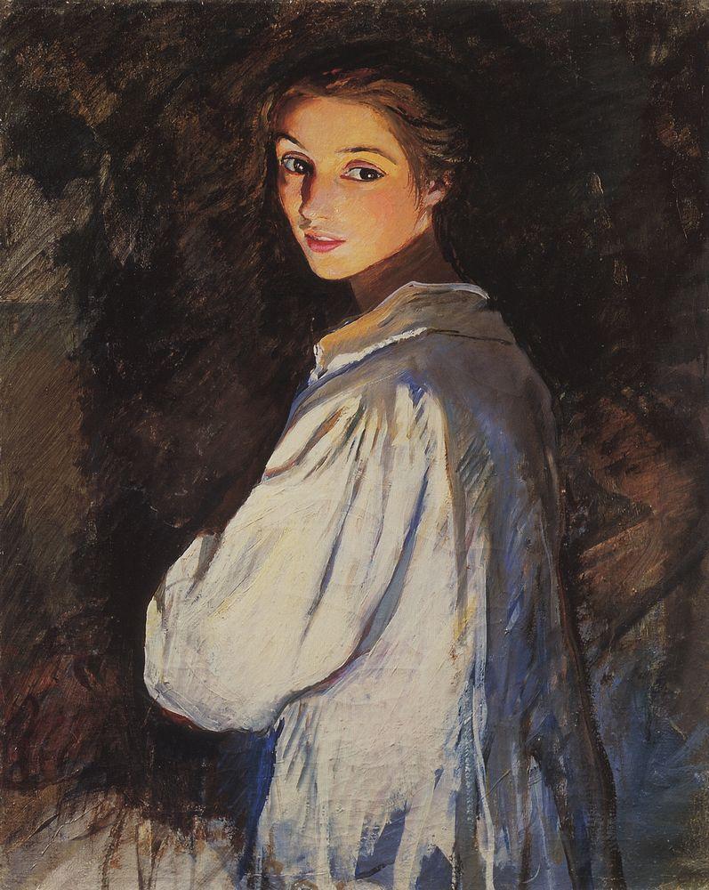 Зинаида Серебрякова, автопортрет
